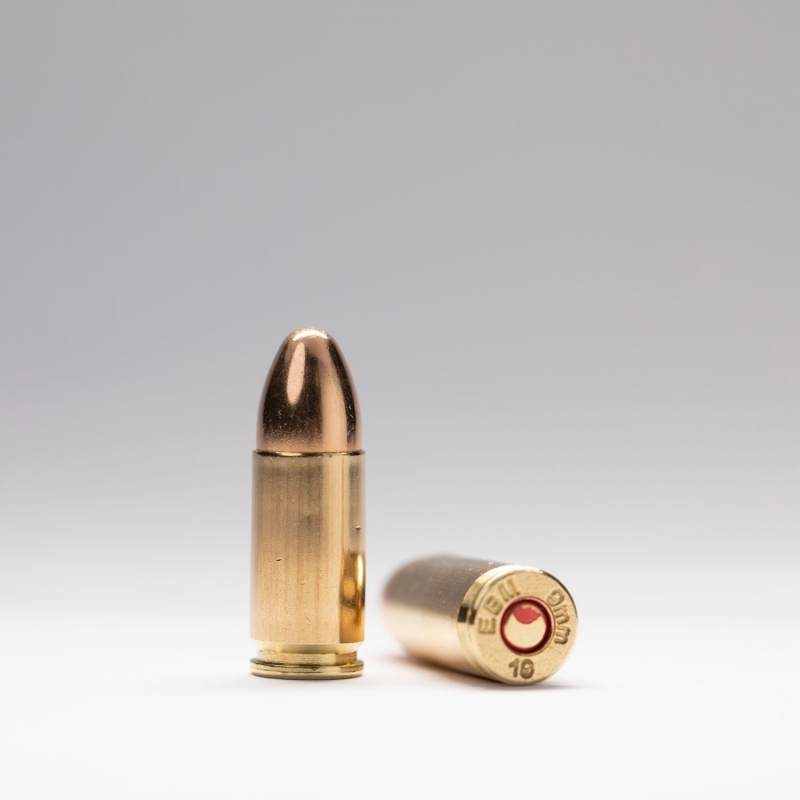 9 mm 124 grains ball