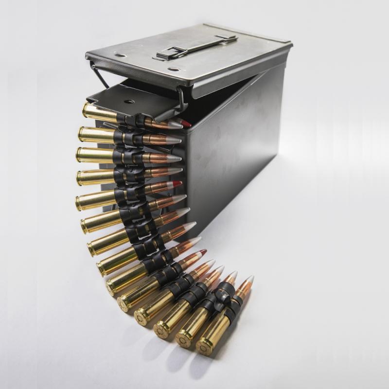 12.7 x 99mm metal box