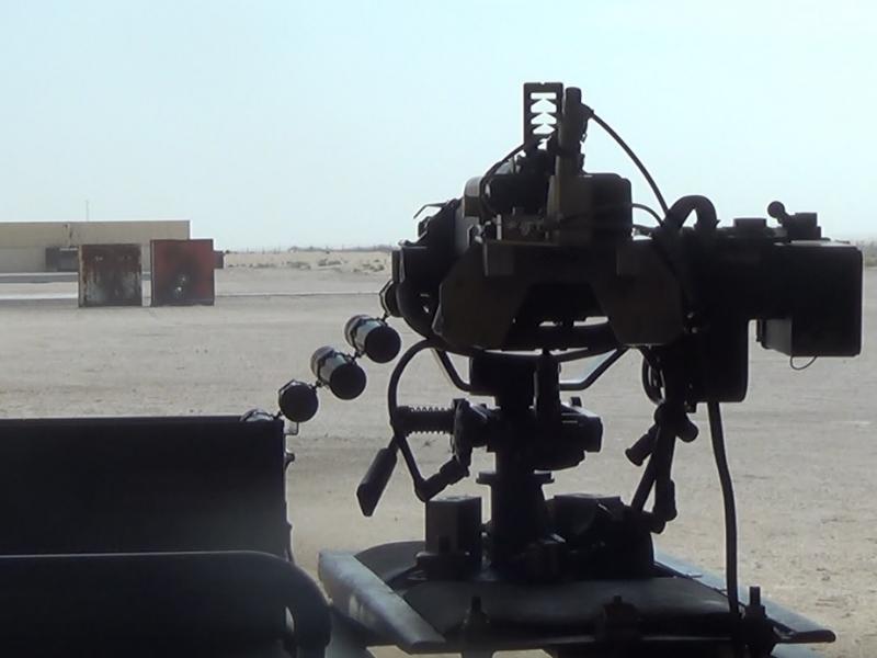 weapon testing